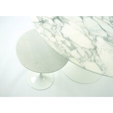 "Saarinen 42"" Round Dining Table-Platinum"