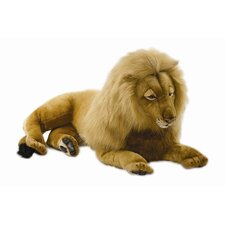 Large Majestic Lion Stuffed Animal