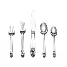 Royal Danish 5 Piece Flatware Set with Chest