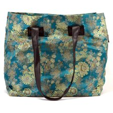 Brocade Golden Blossoms Bag