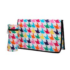 "Baby""s Own Houndstooth Baby Travel Kit in Multi-Color"