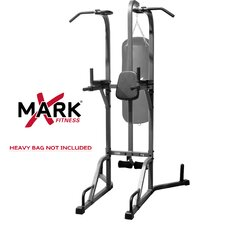 Commercial Full Heavy Bag Stand with Speed Bag Platform