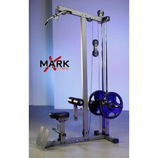 Commercial Lat Pulldown and Low Row Cable Machine