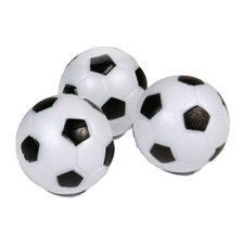 Soccer Ball Style Foosball (Pack of 3)