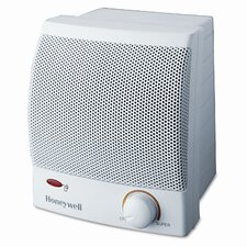 Quick Heat 1,500 Watt Ceramic Compact Space Heater with Adjustable Thermostat