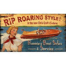 Vintage Chris Craft Sign