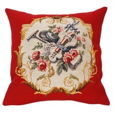 French Tapestry Jardinier Cotton Pillow