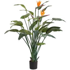 "60"" Artificial Strelitzia Bird of Paradise Plant"