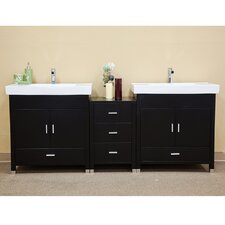 "Ramsey 80.7"" Double Vanity Set"