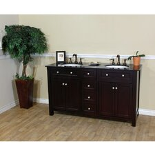 "Delaney 62"" Double Vanity Set"
