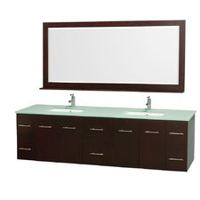 "Centra 80"" Double Bathroom Vanity Set"