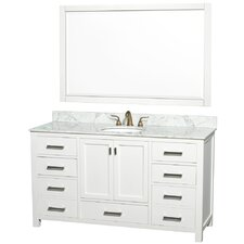 "Abingdon 61"" Single Vanity Set"