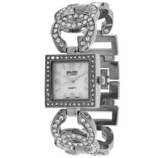 Women's Simply Inspired Pearl Dial Watch in Silver