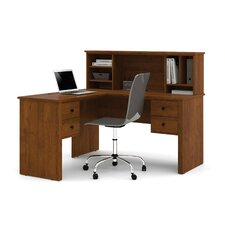 Somerville Corner Desk with Hutch