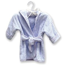 Infant Terry Velour Bath Robe in Blue