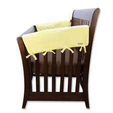 2 Pack of Side Crib Rail Covers in  Yellow