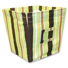 Giggles Medium Fabric Storage Bin in Stripe