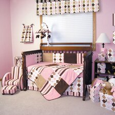 Prep School 4 Piece Crib Bedding Set
