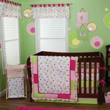 Splash Pink Crib Bedding Collection