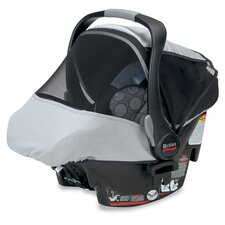 Infant Car Seat Sun and Bug Cover