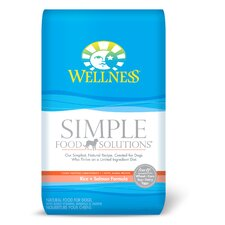 Simple Solutions Rice and Salmon Formula Dry Dog Food