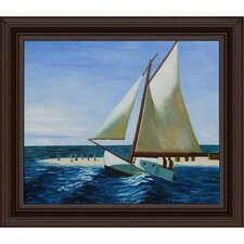 Hopper The Martha McKean of Wellfleet Canvas Art