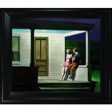 Hopper Summer Evening Canvas Art