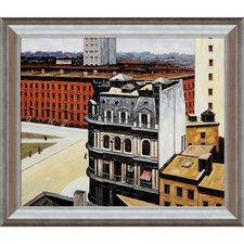 Hopper The City Canvas Art