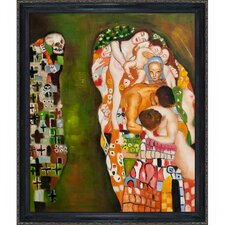 Klimt Death and Life Canvas Art