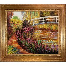 Monet The Japanese Bridge Canvas Art