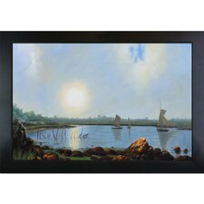 Heade York Harbor Coast of Maine Canvas Art