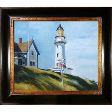 Lighthouse at Two Lights Canvas Art