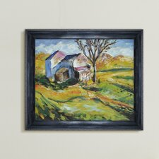 House in a Landscape Canvas Art