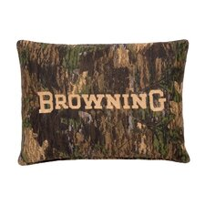 Camo Deer Cotton Oblong Pillow
