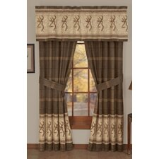 Buckmark Lined Rod Pocket Drape Single Panel