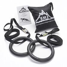 Multi-Use Gymnastics Rings (Set of 2)