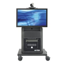 "Executive Video Conferencing Stand for 37""-55"" Screens"