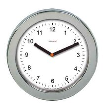 Brushed Steel Wall Clock