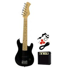 Kids Electric Guitar in Black