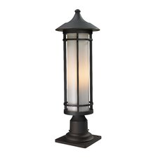 Woodland 1 Light Outdoor Pier Mount