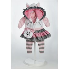 "20"" Baby Doll The Cat's Meow Costume"