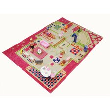 IVI Carpets-Playhouse 3D Play Kids Rug