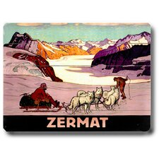 Zermat Wood Sign