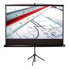 "Matte White Tripod H Portable Screen - 100"" Video Format"