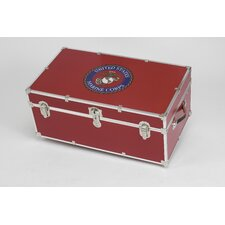 Marine Corps Trunk with Wheels