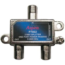 Aspen 2 Way 2,600 MHz 1 port passing Splitter