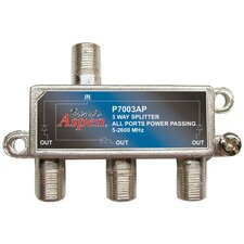 Aspen 3 Way 2,600 MHz Splitter