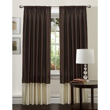 Flourish Rod Pocket Curtain Single Panel