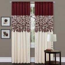 Estate Garden Rod Pocket Curtain Single Panel