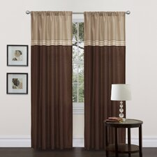 Terra Rod Pocket Curtain Panel Pair